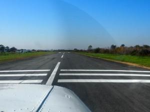 大利根飛行場 RWY25 離陸