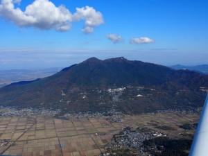 筑波山西側 2000ft