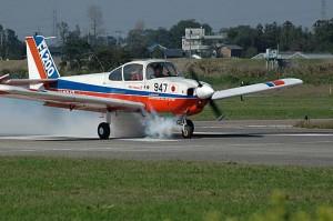 離陸するJA3947
