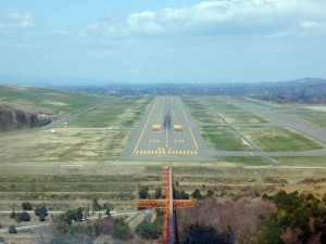 福島空港 RWY01 着陸